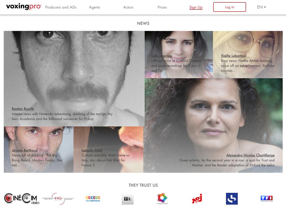 homepage  EN