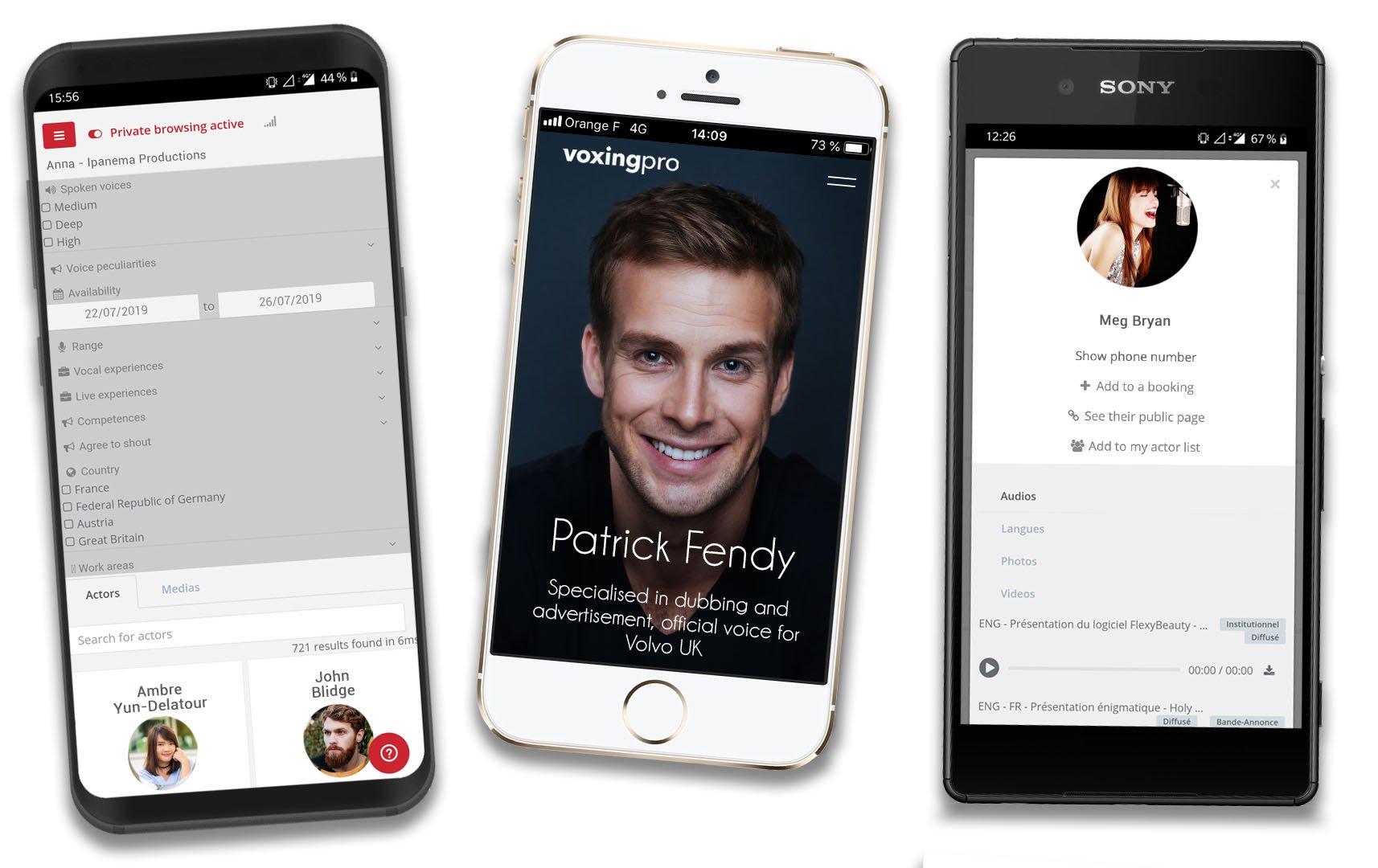 Voxing Pro mobile app