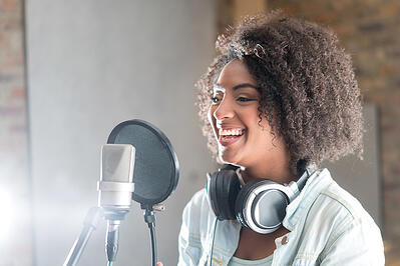 Digital marketing for voice actors